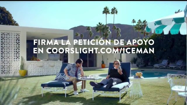 Coors Light TV Commercial Ad 2021, El Iceman' con Tom Flore