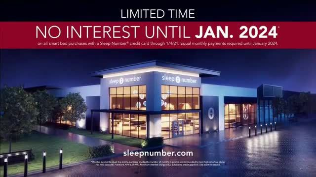 Sleep Number Lowest Prices of the Season TV Commercial Ad 2020, New Year- Temperature Balance- Save