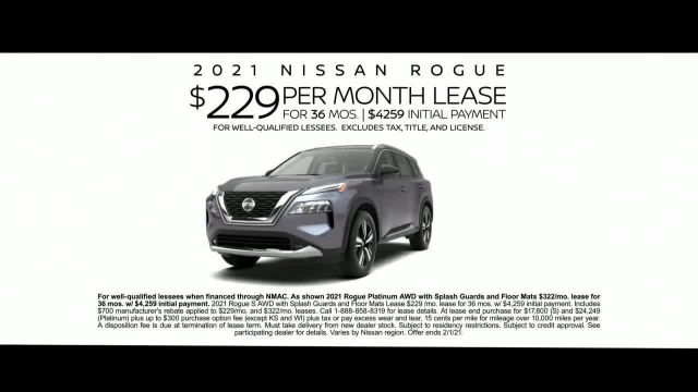 2021 Nissan Rogue TV Commercial Ad 2021, Safety Features