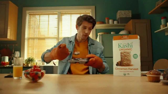 Kashi Foods Cinnamon Harvest TV Commercial Ad 2021, Must There Be Hell in a Healthy Breakfast-