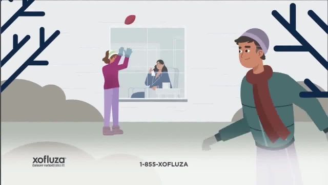 Xofluza TV Commercial Ad 2021, The Flu Can Hit You Hard