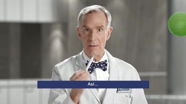 Bufferin Hand Sanitizer TV Commercial Ad 2021, The Science of Healthy Hands' Featuring Bill Nye