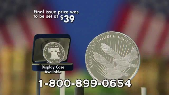 National Collector's Mint TV Commercial Ad 2021, 2021 Silver Double Eagle