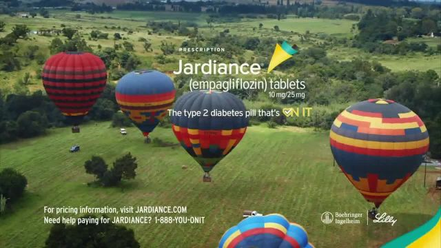 Jardiance TV Commercial Ad 2021, Hot Air Balloon