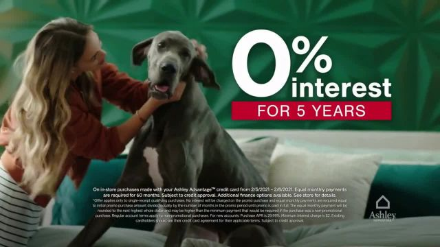 Ashley HomeStore Presidents Day Early Access Sale TV Commercial Ad 2021, BOGO 50% Off and No Interest