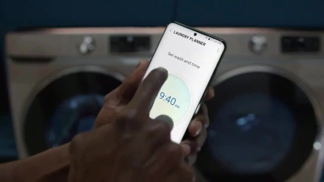Samsung Smart Laundry TV Commercial Ad 2021, Connected Appliances Laundry' Song by Beginners & Freedo