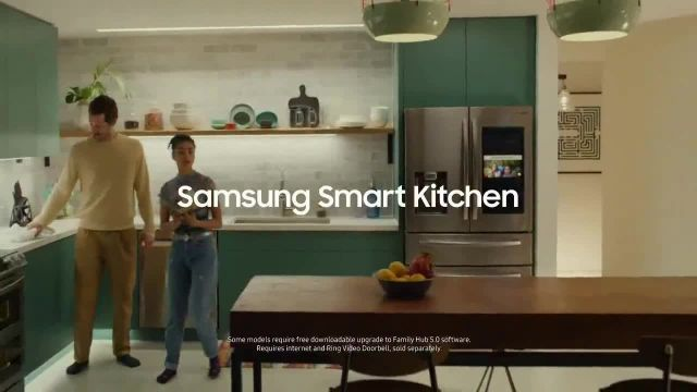 Samsung Home Appliances TV Commercial Ad 2021, Connected Appliances Recipes' Song by Beginners & Freedo