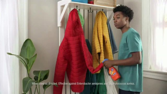 Tide Antibacterial Fabric Spray TV Commercial Ad 2021, Just to Be Sure