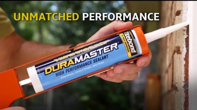Titebond DuraMaster TV Commercial Ad 2021, Building Materials Move Your Sealant Should Too
