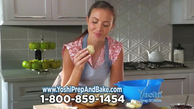Yoshi Prep N Bake TV Commercial Ad 2021, Convection Steam