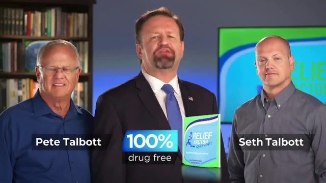 Relief Factor 3-Week Quickstart TV Commercial Ad 2021, Richard' Featuring Sebastian Gorka