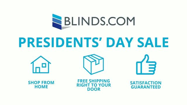 Blindscom Presidents Day Sale TV Commercial Ad 2021, Simple- 40% Off