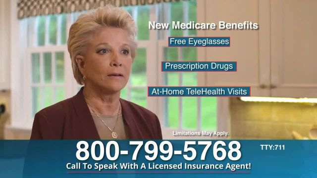 Medicare Benefits Hotline TV Commercial Ad 2021, Review- Benefits' Featuring Joan Lunden
