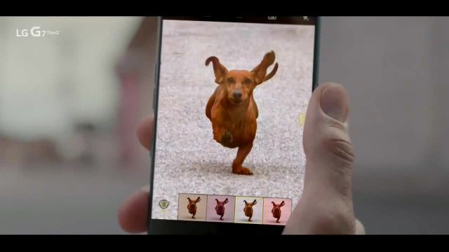 LG G7 ThinQ TV Commercial Ad 2021, AI Cam for Dogs- $7 Per Month