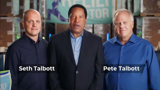 Relief Factor 3-Week Quick Start TV Commercial Ad 2021, John's Testimony' Featuring Larry Elder