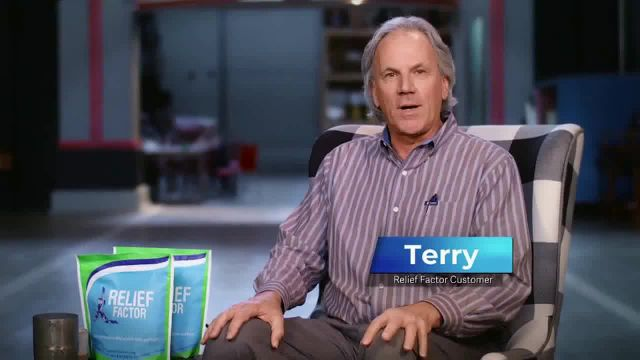Relief Factor 3-Week Quickstart TV Commercial Ad 2021, Terry