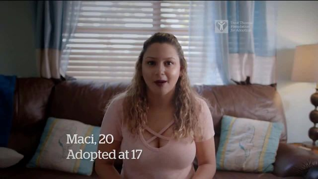 Dave Thomas Foundation TV Commercial Ad 2021, Before I Was Adopted