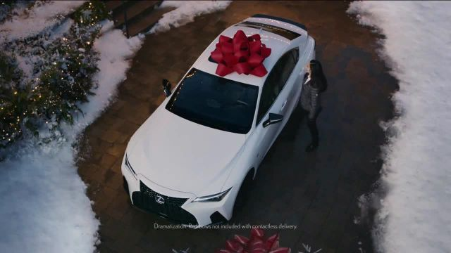Lexus December to Remember Sales Event TV Commercial Ad 2021, Driveway Moments- Birthday