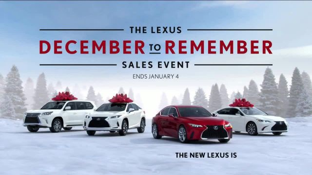 Lexus December to Remember Sales Event TV Commercial Ad 2021, Driveway Moments- Peace and Joy