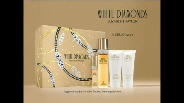 White Diamonds TV Commercial Ad 2021, Featuring Elizabeth Taylor