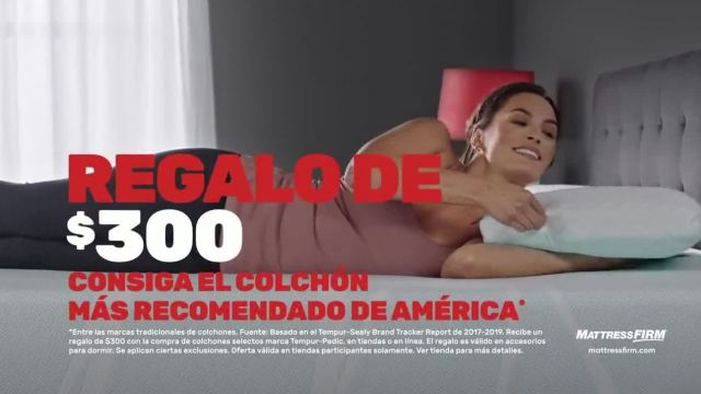 Mattress Firm TV Commercial Ad 2021, Tempur-Pedic- Hasta $500 dólares
