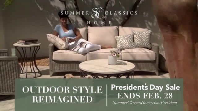 Summer Classics Presidents Day Sale TV Commercial Ad 2021, Gear Up for Sunny Days