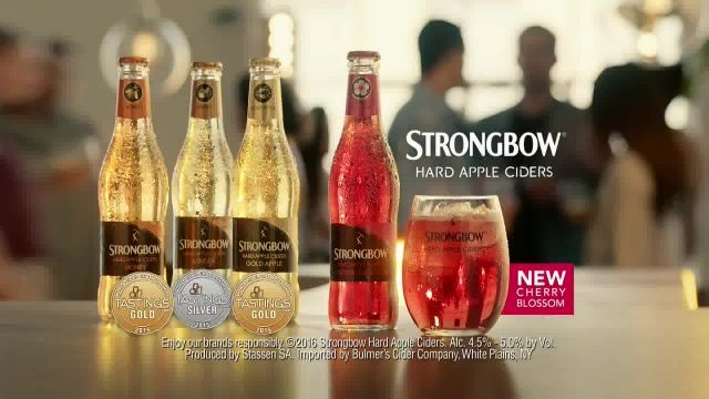 Strongbow Hard Apple Ciders TV Commercial Ad 2021, Trophies' Featuring Patrick Stewart