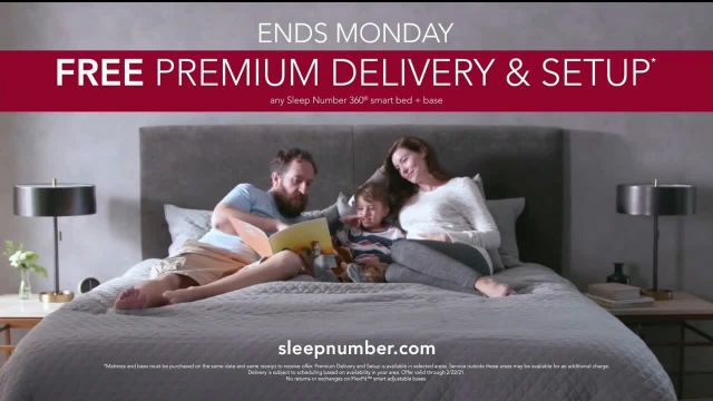 Ultimate Sleep Number Event TV Commercial Ad 2021, Weekend Special- Save 50% and Free Delivery