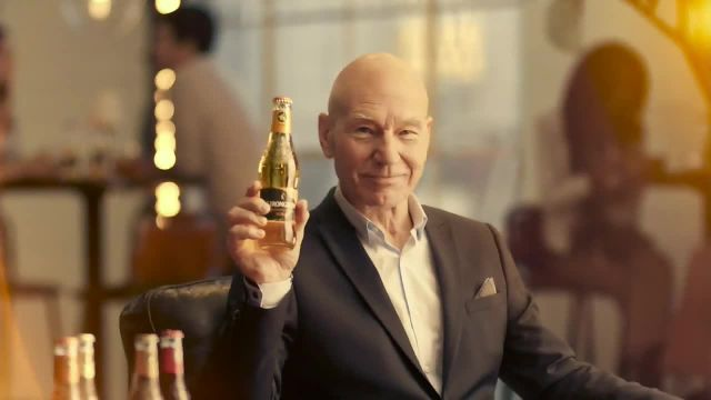 Strongbow Hard Cider TV Commercial Ad 2021, Impressive Flavors' Feat Patrick Stewart