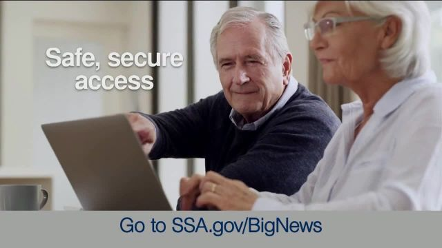 Social Security Administration TV Commercial Ad 2021, Big News- My Social Security Account