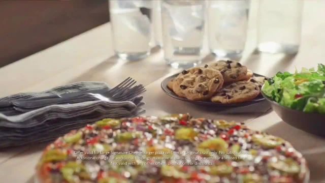 Papa Murphy's Cheeseburger Pizza TV Commercial Ad 2021, Chow Down- $12