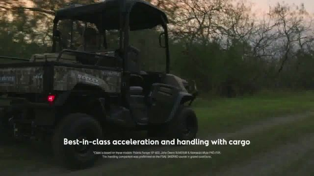 Kubota Sidekick TV Commercial Ad 2021, Let Nothing Stand Between You and the Tree Stand- Save $2,200