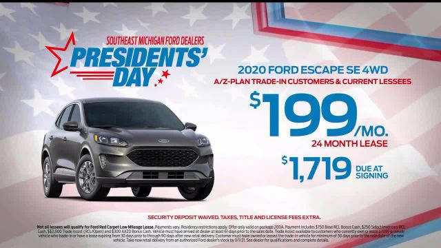 Ford Presidents Day TV Commercial Ad 2021, In Honor- Escape
