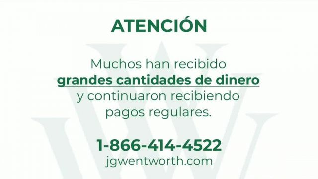 JG Wentworth TV Commercial Ad 2021, Atención