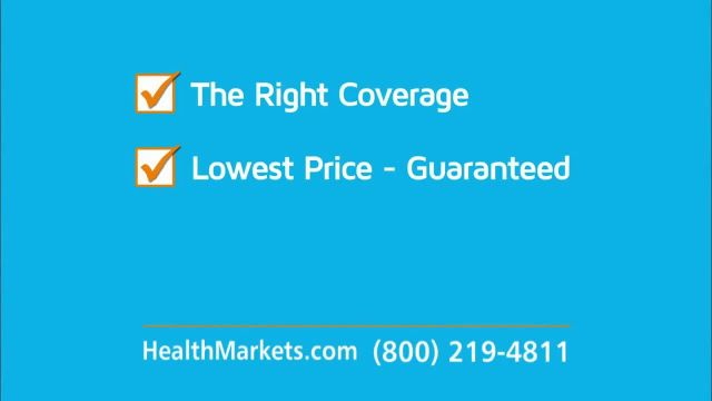 HealthMarkets Insurance Agency TV Commercial Ad 2021, Important Message