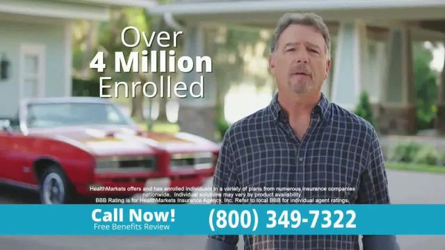 HealthMarkets Insurance Agency TV Commercial Ad 2021, He's Not Okay' Featuring Bill Engvall