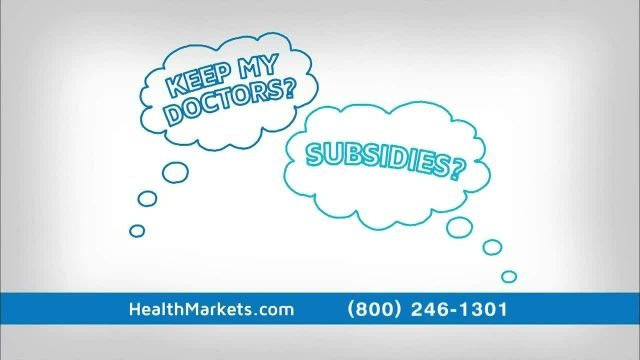HealthMarkets Insurance Agency TV Commercial Ad 2021, Health Care Reform