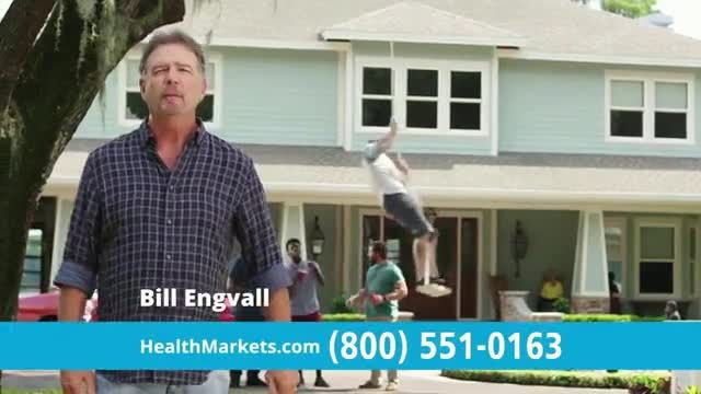 HealthMarkets Insurance Agency FitScore TV Commercial Ad 2021, Days Away' Featuring Bill Engvall