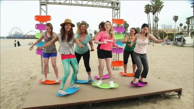 Simply Fit Board TV Commercial Ad 2021, Fun Workout' Featuring Lori Greiner