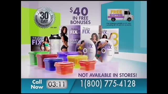 21 Day Fix TV Commercial Ad 2021, Lose Pounds and Inches