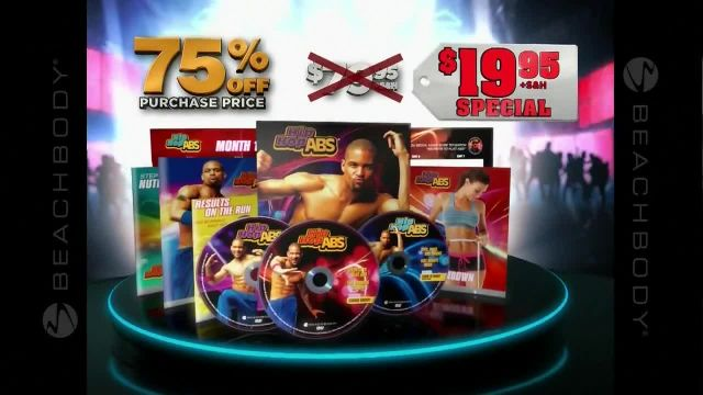 Hip Hop Abs TV Commercial Ad 2021, 75% Off