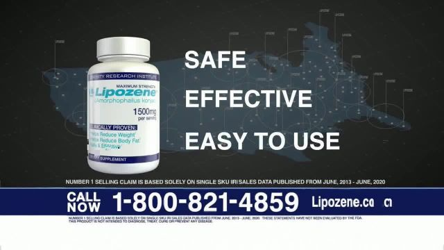 Lipozene TV Commercial Ad 2021, Do You Need to Lose Weight-