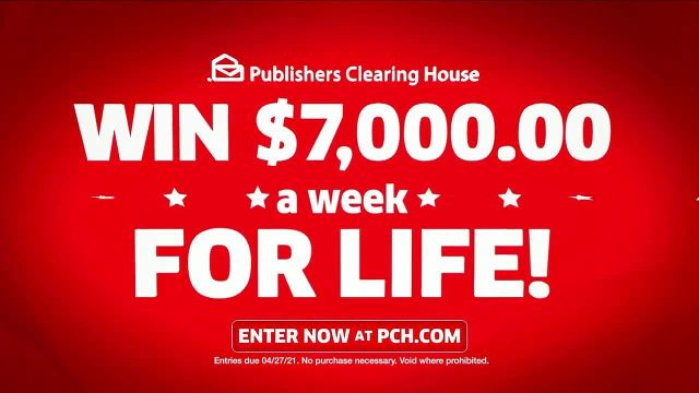 Publishers Clearing House TV Commercial Ad 2021, Helping Change Lives- $7,000 a Week' Featuring Brad Paisley