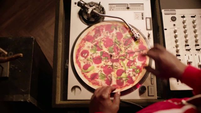 Pizza Hut TV Commercial Ad 2021, Vinyl' Featuring Craig Robinson, Song by Trap Beckham