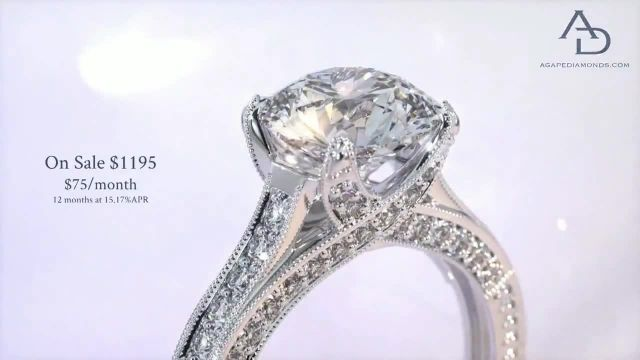 Agape Diamonds TV Commercial Ad 2021, Give Her the Gift That Will Last a Lifetime