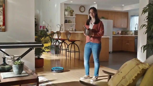 GEICO TV Commercial Ad 2021, Roomba