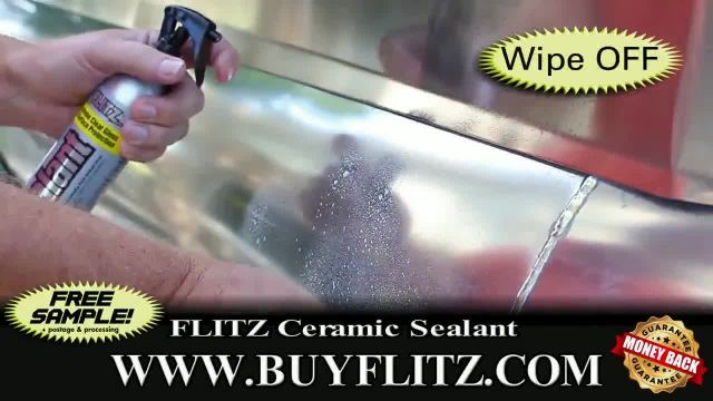 Flitz Premium Polishes Ceramic Sealant TV Commercial Ad 2021, All It Takes