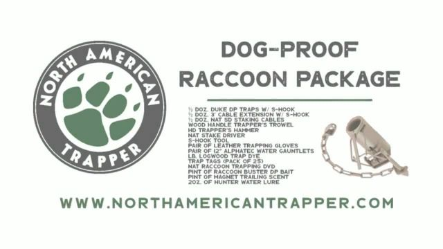 North American Trapper TV Commercial Ad 2021, Raccoons