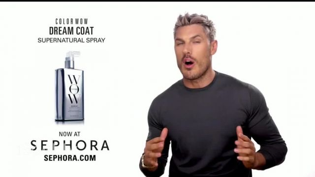 Color Wow Dream Coat Supernatural Spray TV Commercial Ad 2021, Game Changer