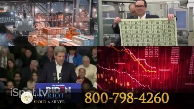 Patriot Gold Group TV Commercial Ad 2021, Time to Buy Gold